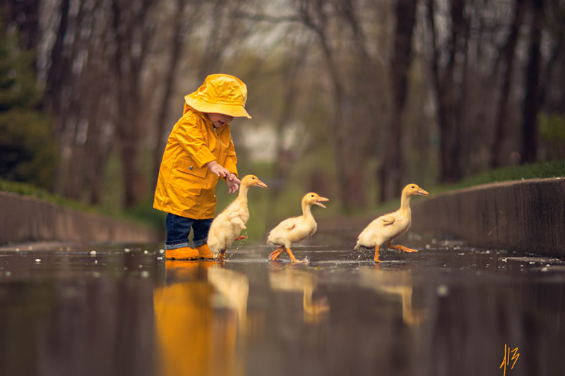 Cute Baby Duck Wallpaper Hd Post Processing Video Tutorial Toddler Playing With Baby
