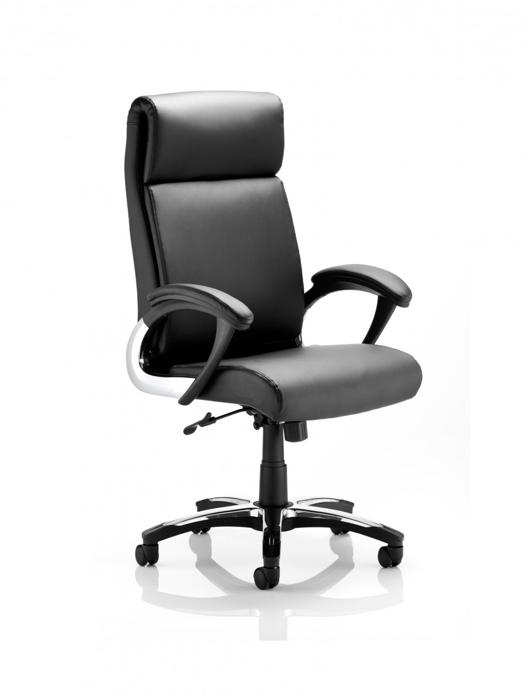 Foldable Office Chair Dynamic Romeo Leather Folding Executive Office Chair 121