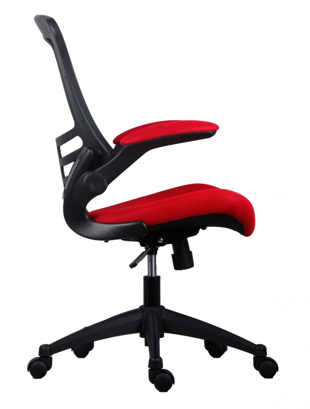 Red Desk Chair Office Chairs Marlos Mesh Office Chair In Red Ch0790rd