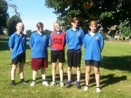 1220 cadets at the Open Netball Tournament