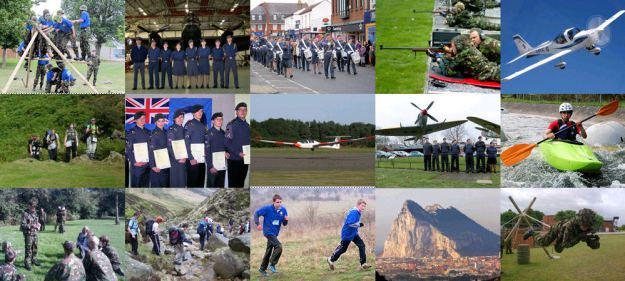 Some of the activities you an get involved with in the Air Cadet Organisation.