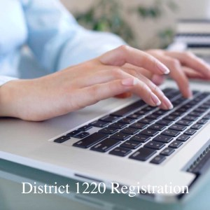 District 1220 Conference Registration