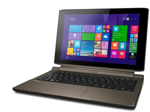 MEDION Akoya 2in1 touch laptop  QuadCore processor