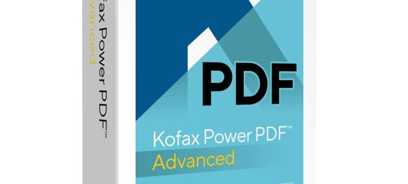 Kofax Power PDF Standard – Intuitive PDF-Erstellung