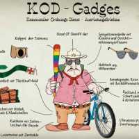 Die KOD-Gadgets in meiner Kolumne April für den Frei(e) Bürger