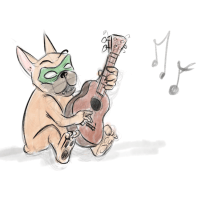 Sketch of the Day: Ukulele
