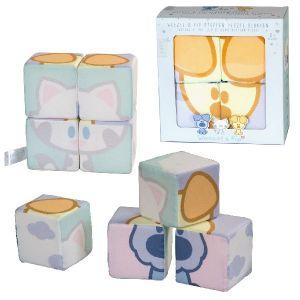 Woezel en Pip Baby Stoffen Blokken Puzzel