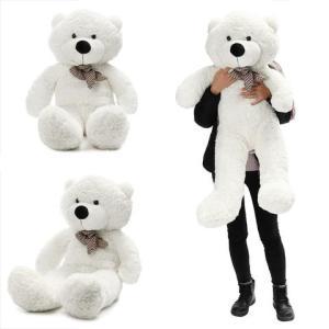 140cm / 55 Inch semi-afgewerkte gigantische grote ongeschuurde teddybeer huid schillen huiden kind baby knuffels