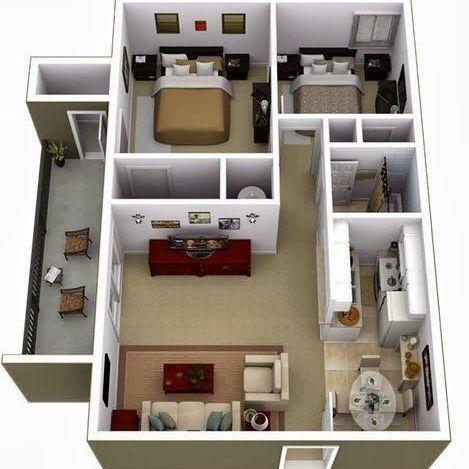 Desain rumah minimalis sederhana 1 lantai 2020