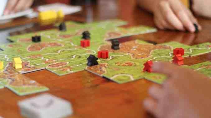 Carcassonne speelbord