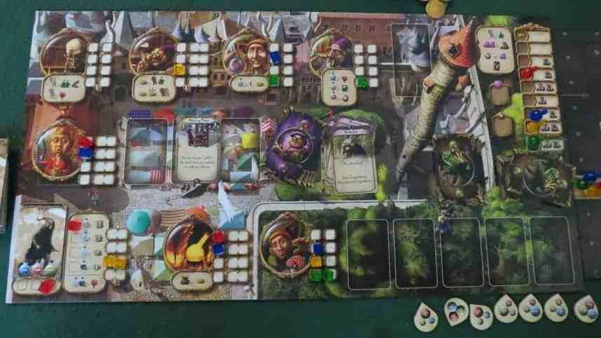 Alchemists bordspel