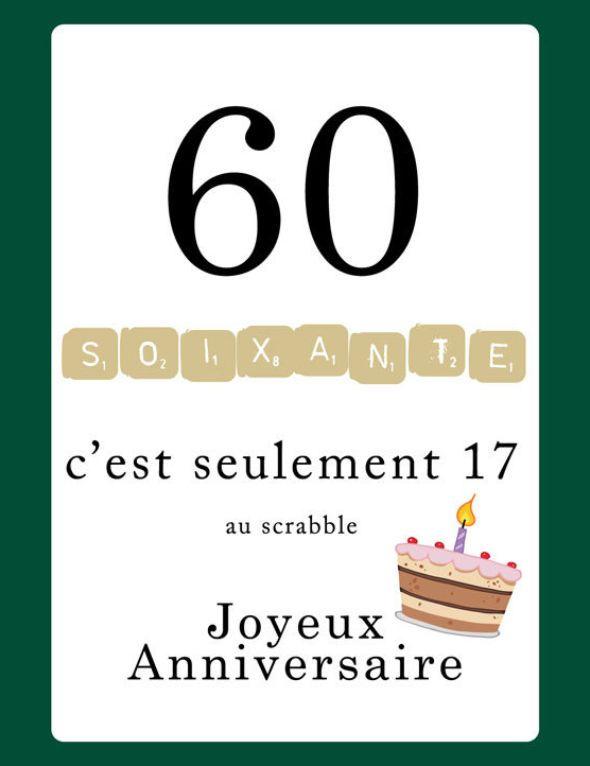 Comment Refaire Sa Vie A 60 Ans : comment, refaire, Texte, Joyeux, Anniversaire, 123cartes