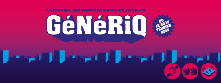 La Vapeur : Festival GéNéRiQ