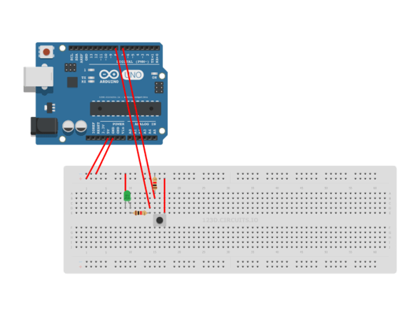Simple Led Onoff Circuit