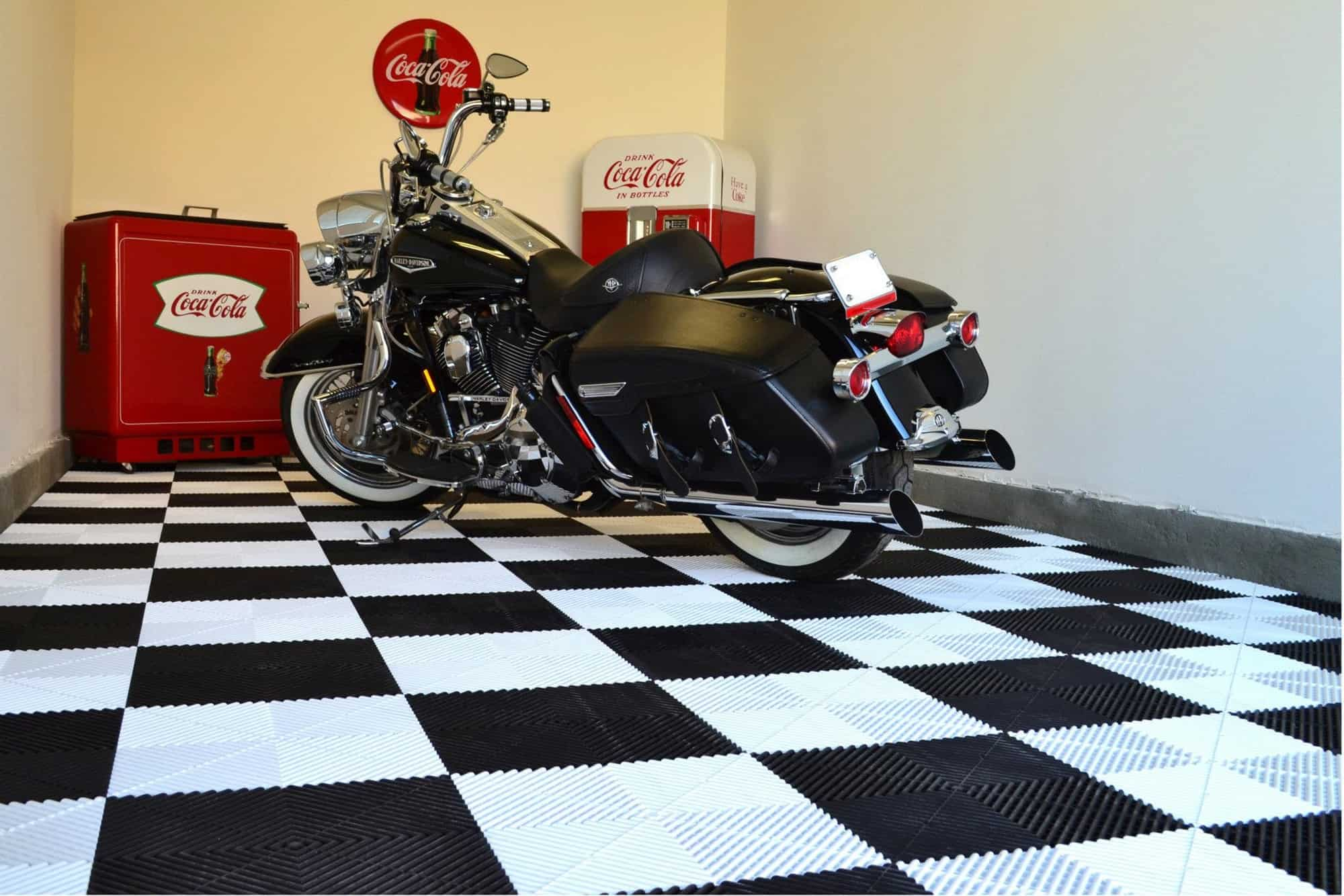 Dalle De Sol Pour Harley Davidson Sol Garage Harley Davidson