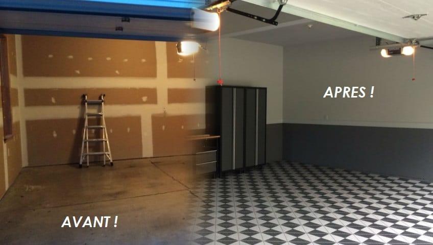 Revtement de sol pour garage priv  professionnel  La solution