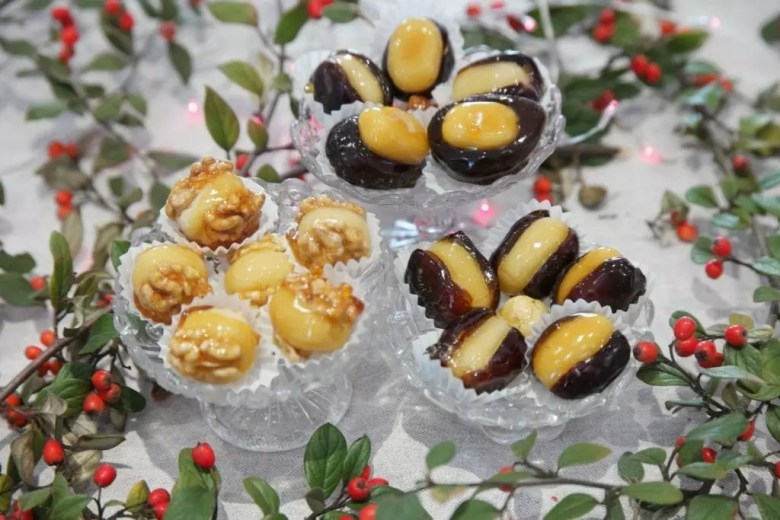 Fruits déguisés pour Noel