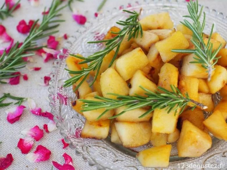 pommes express à la plancha