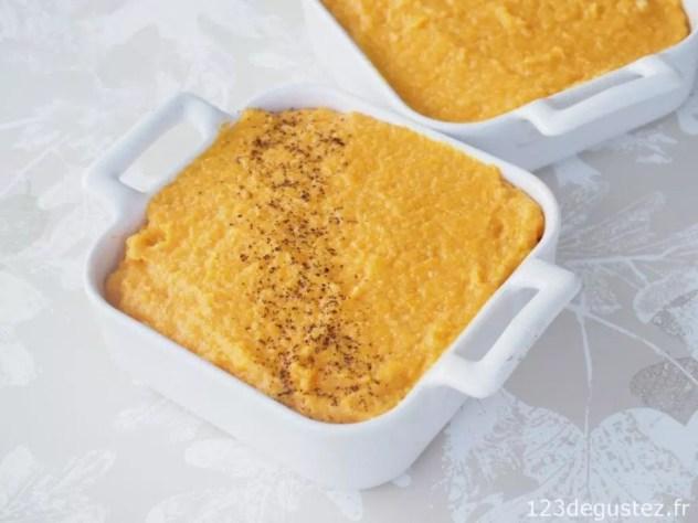 gateau salé de butternet sans lactose sans gluten