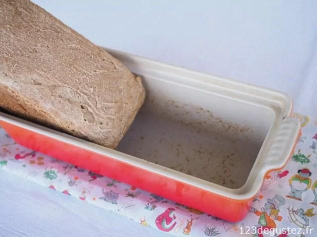 pain au levain de petit épeautre bio sans pétrissage et sans map