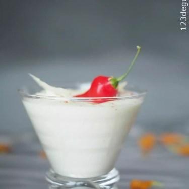 Verrine facile chou fleur mascarpone