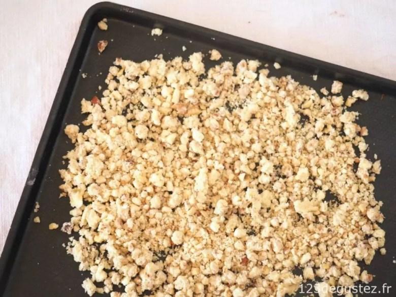 salade d'endive en crumble