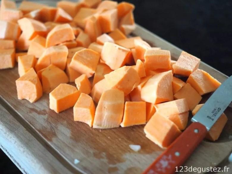 velouté de patate douce