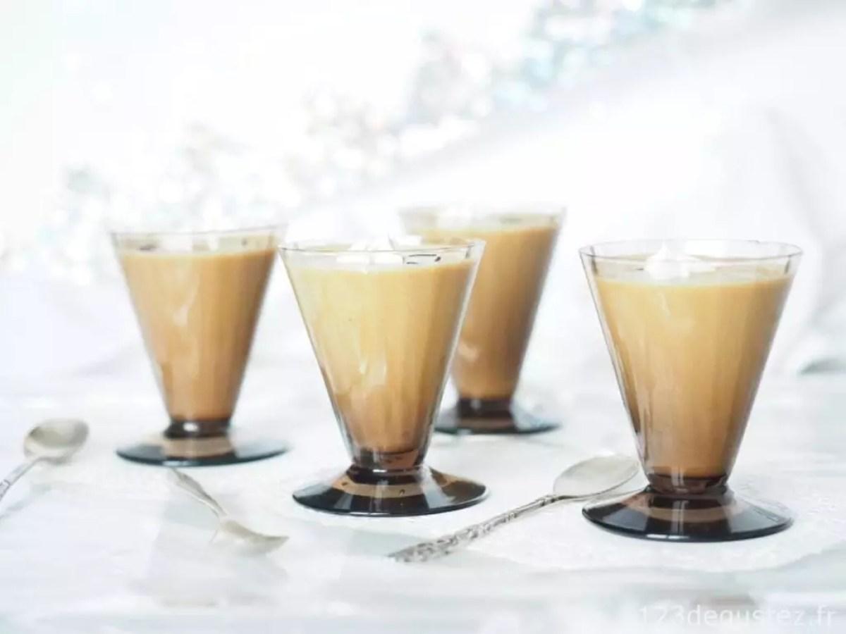 crème anglaise au caramel