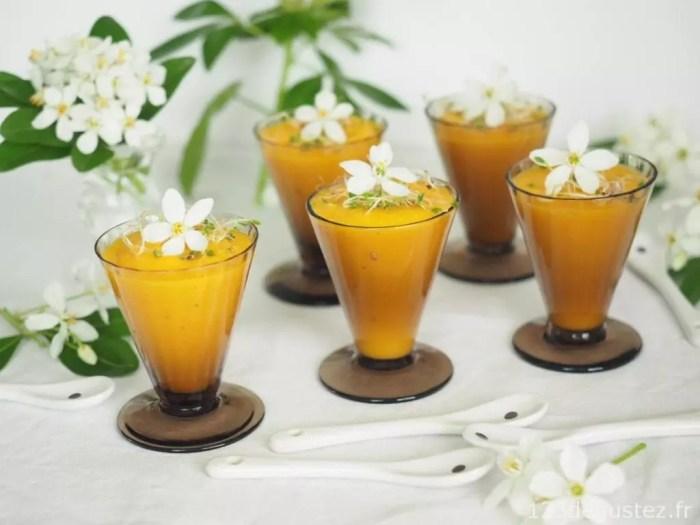 gaspacho de carottes