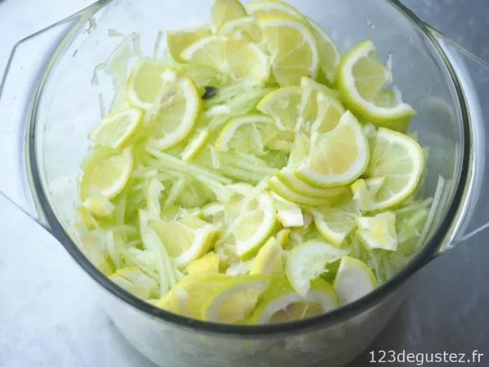 confiture de citre au citron