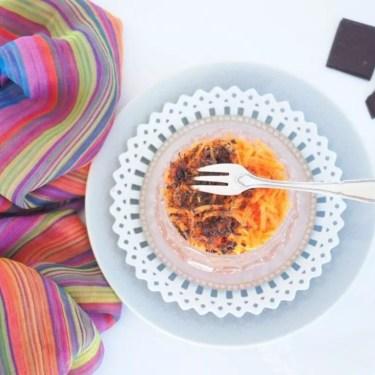 carottes râpées au chocolat