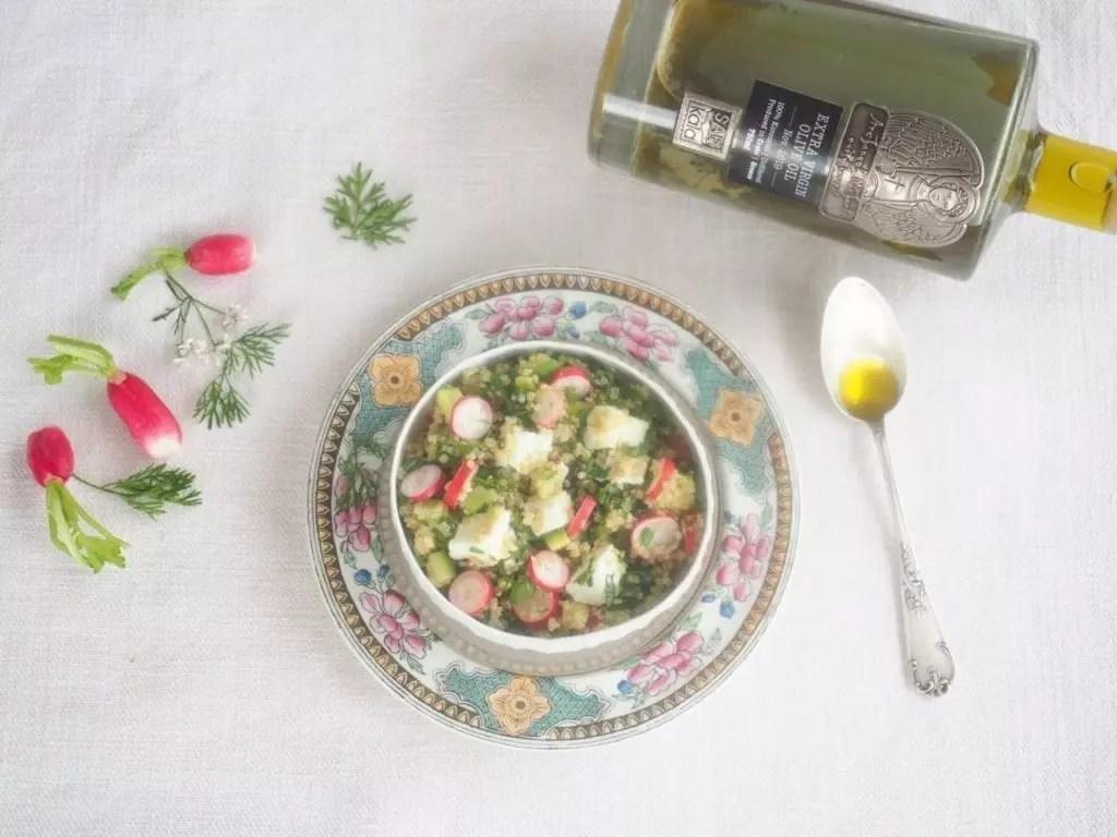salade de quinoa à la féta