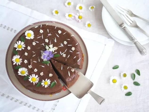 gateau au chocolat sans beurre ni huile