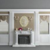 White Background Decoration