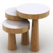 Single Pillar Chair