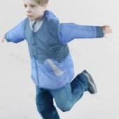 Jumping Kid Character