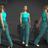 Movement Female Character