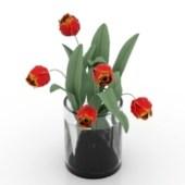 Flower Pot Free 3dmax Model