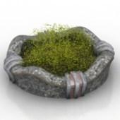 Grass Bonsai Free 3dmax Model