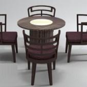 Antique Wooden Tea Table
