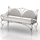 White Minimalist Sofa