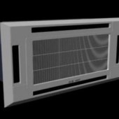 Ceiling Air Conditioner Free 3dmax Model