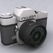 Digital Nikon Camera Free 3dmax Model