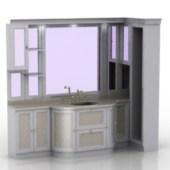 Sink Closet Cabinet