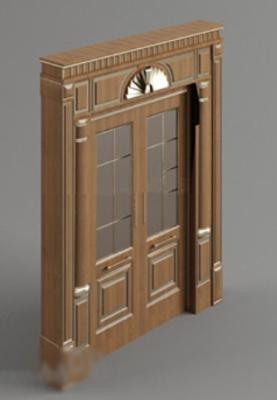 free door 3dmax models