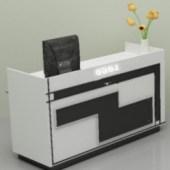 Front Desk Cabinet
