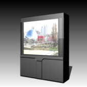 Appliances Big Screen TV 3DMax Model