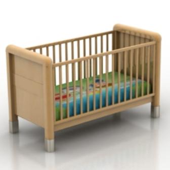 A Wooden Crib