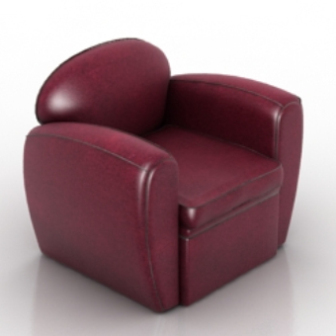 Amazing Wine Red Leather Sofa Free 3D Max Model 3Ds Max Gamerscity Chair Design For Home Gamerscityorg