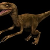 Tyrannosaurus Dinosaur Free 3dmax Model